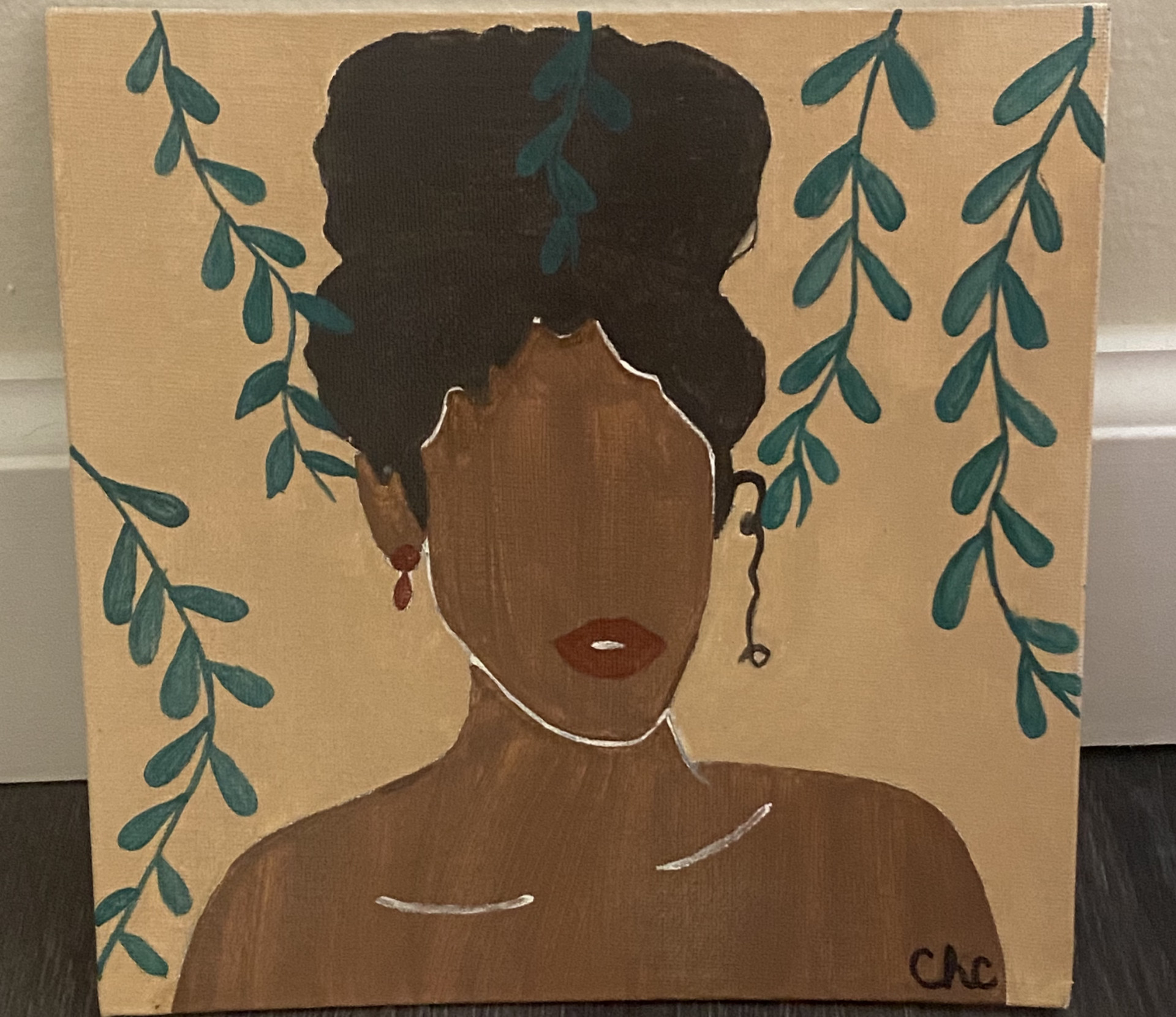 Girl with Vines